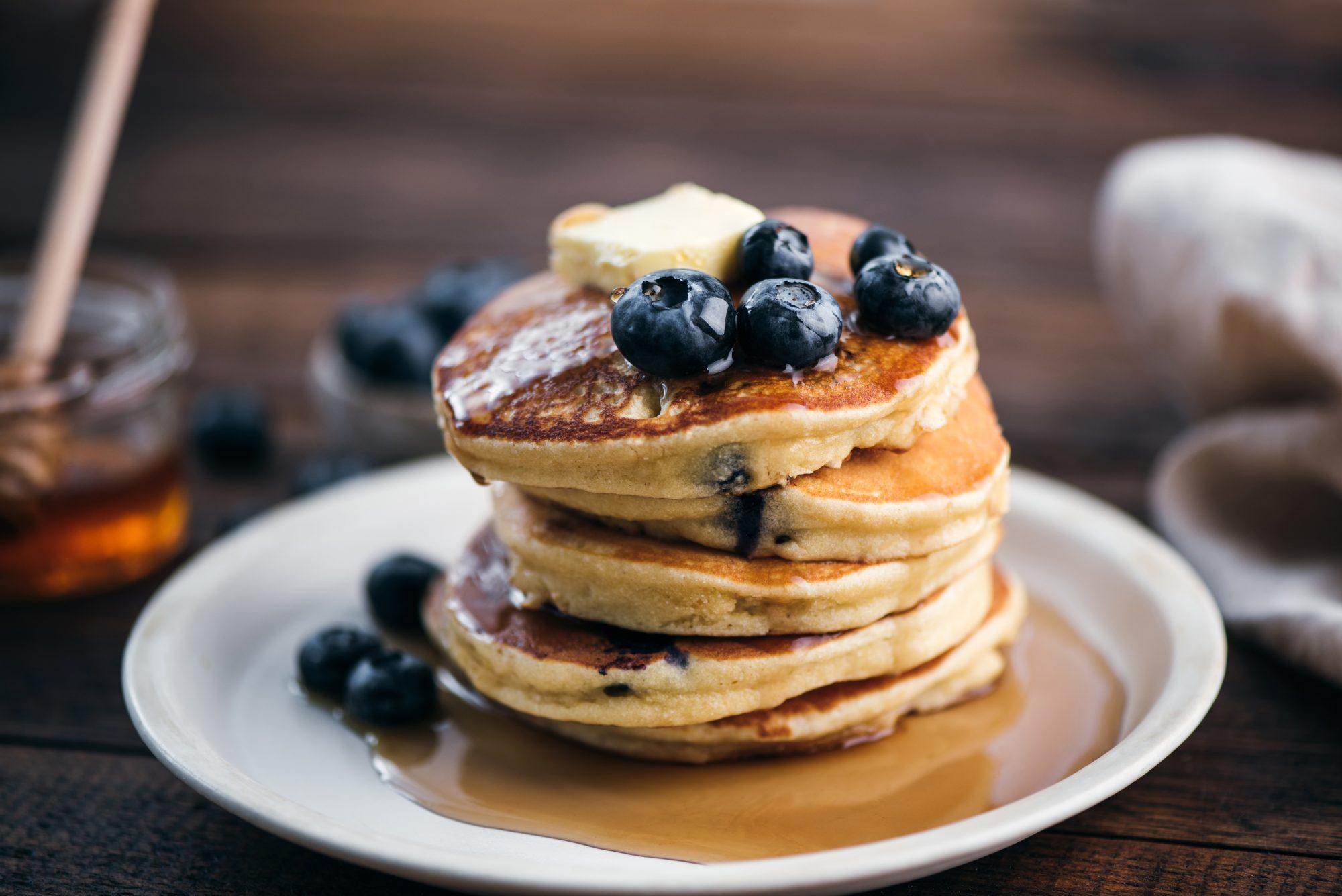 Cake Mix Pancakes