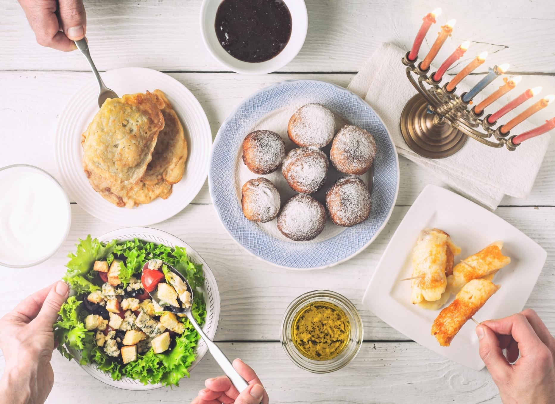 Hanukkah Dinner