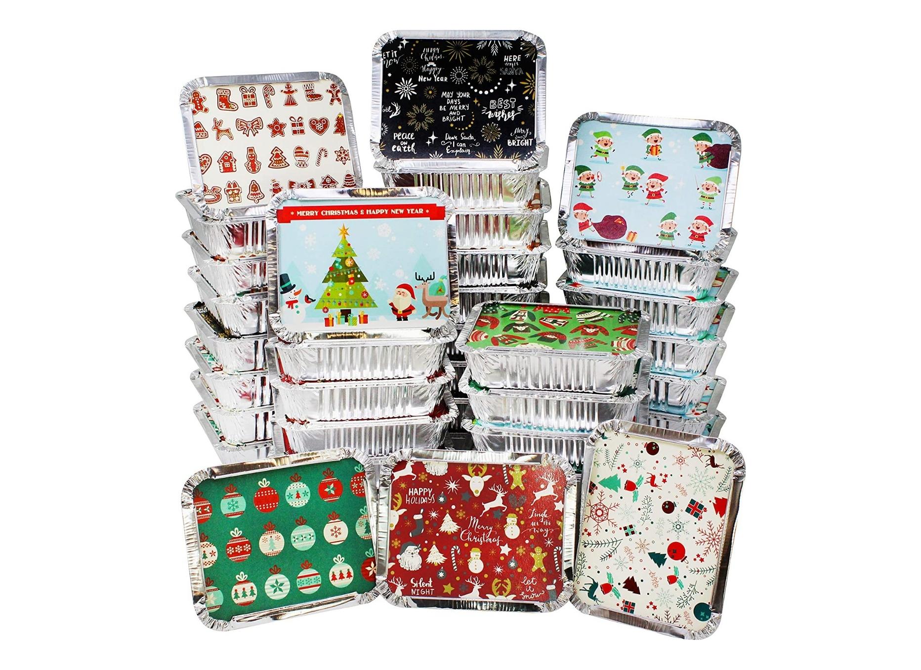 Decorative Foil Containers