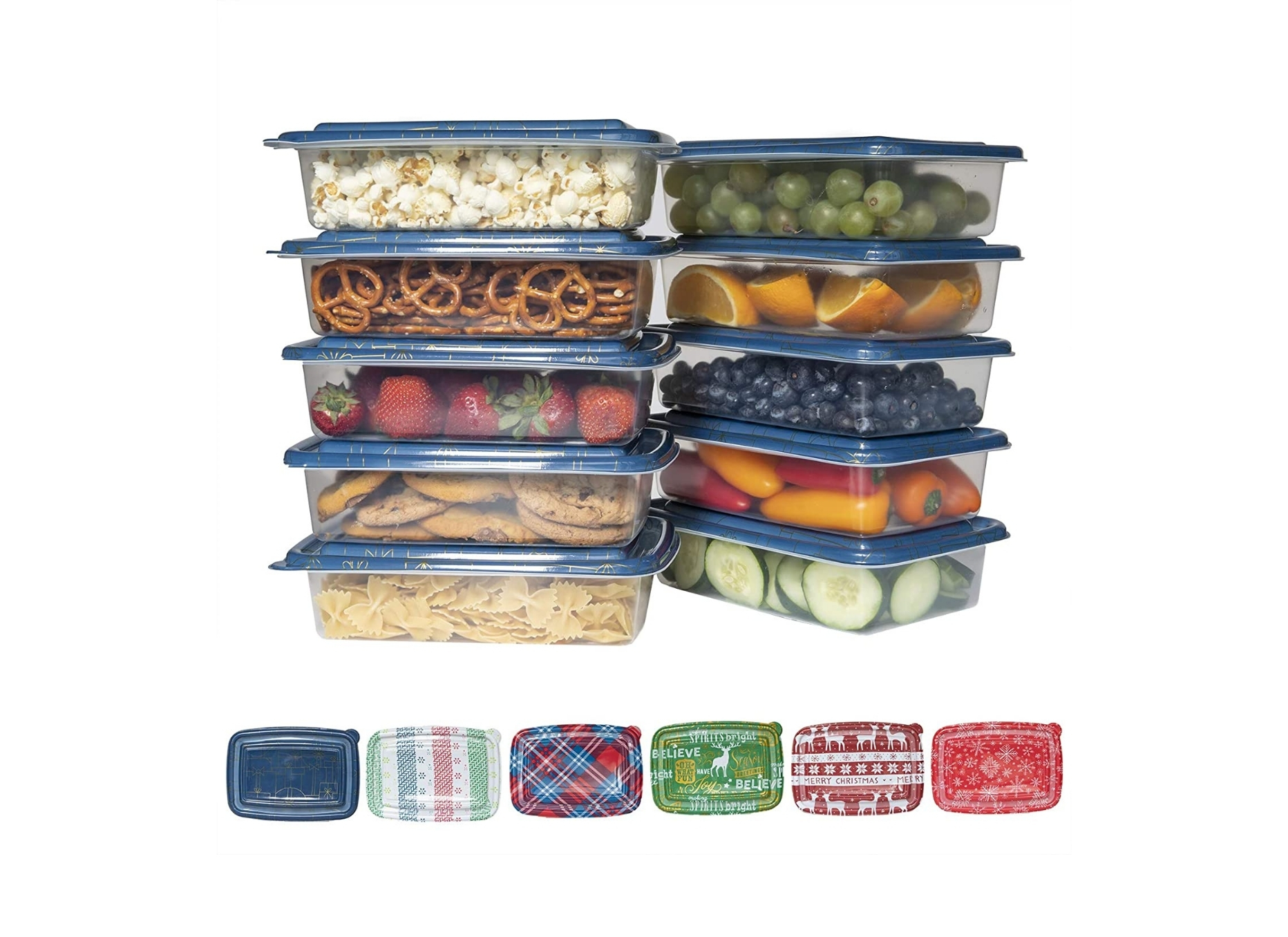 Plastic Lid Containers