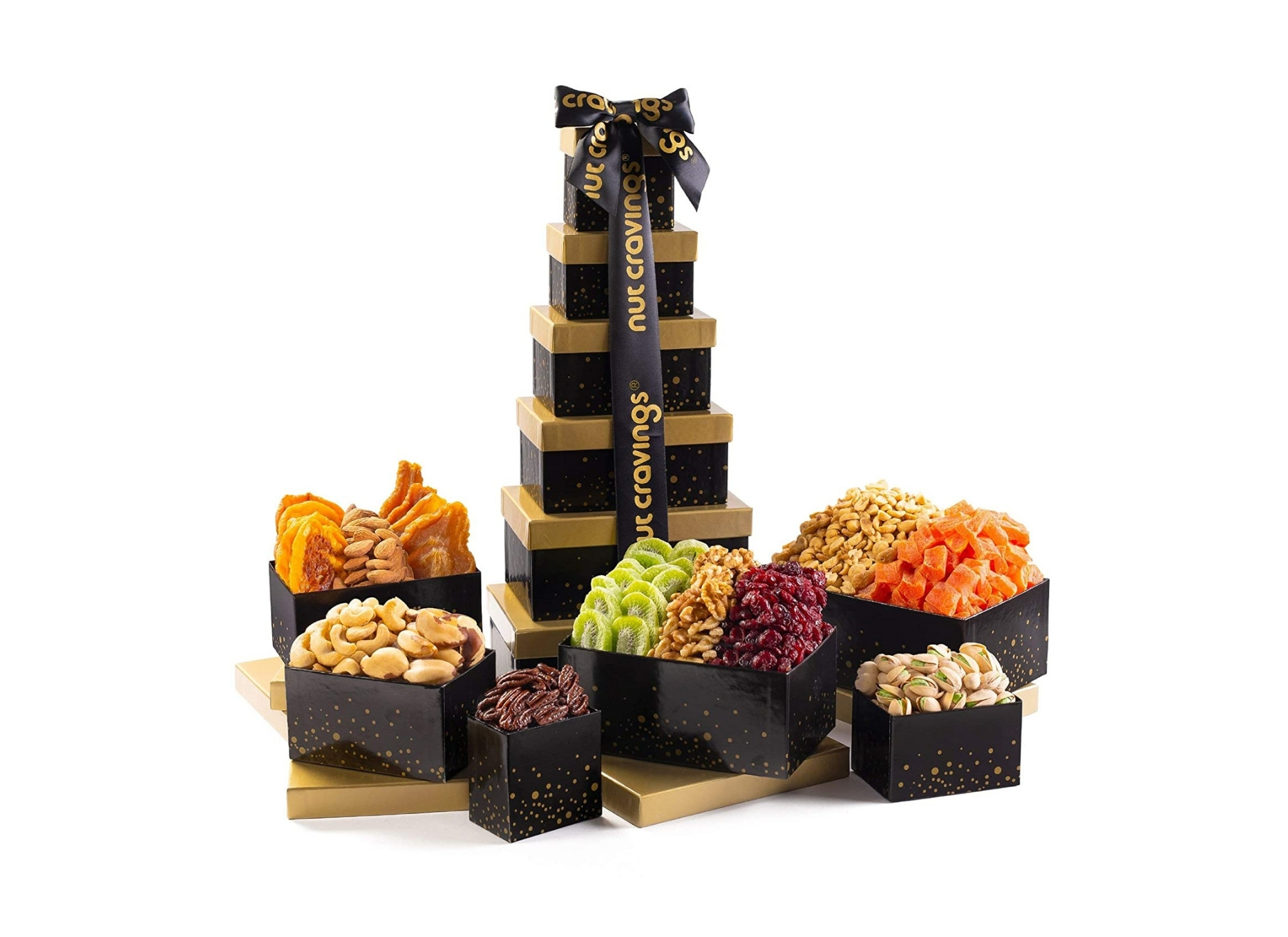 Dried Fruit and Nut Gift Tower