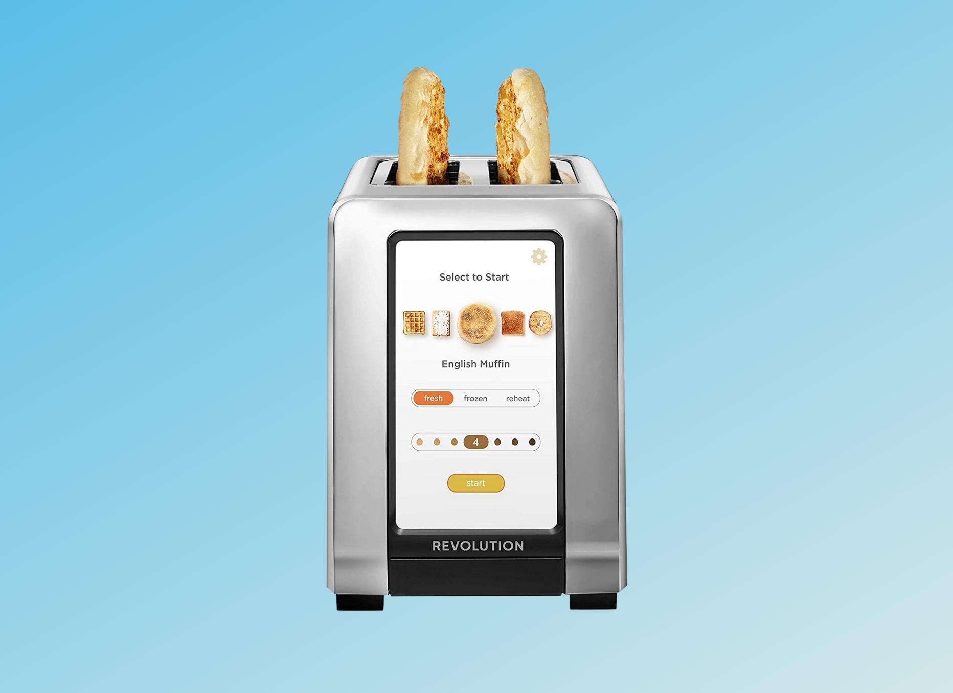 Revolution Touchscreen Toaster