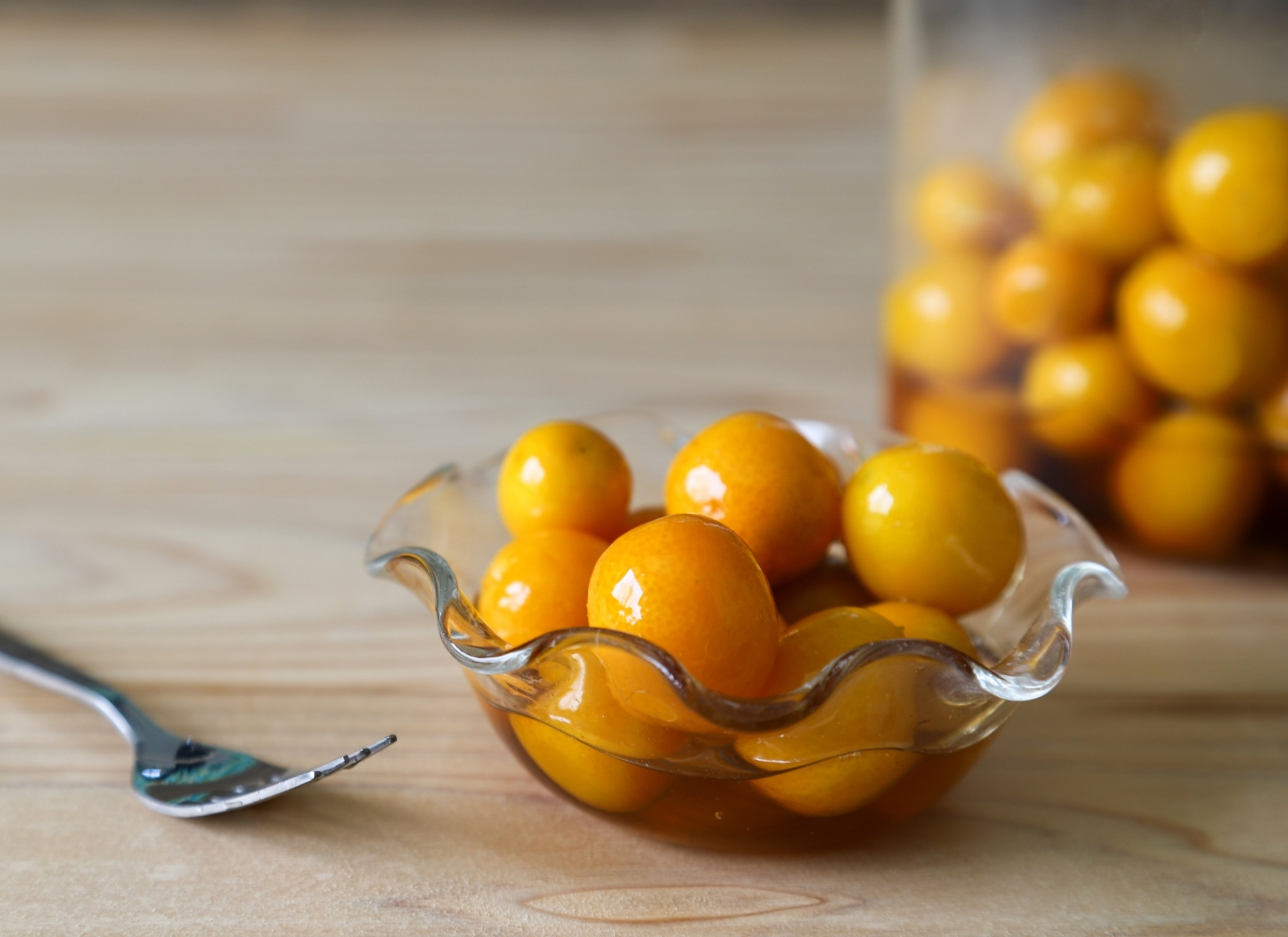 Pickled Kumquats