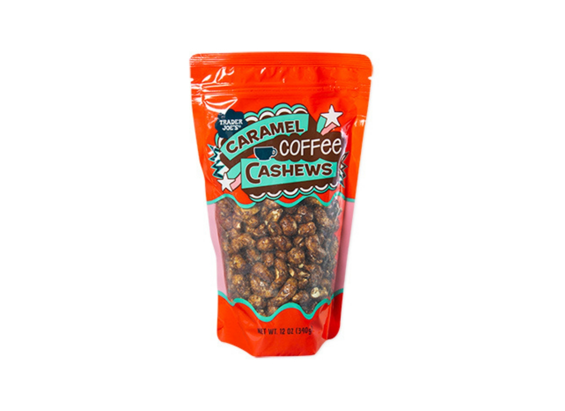 Caramel Coffee Cashews