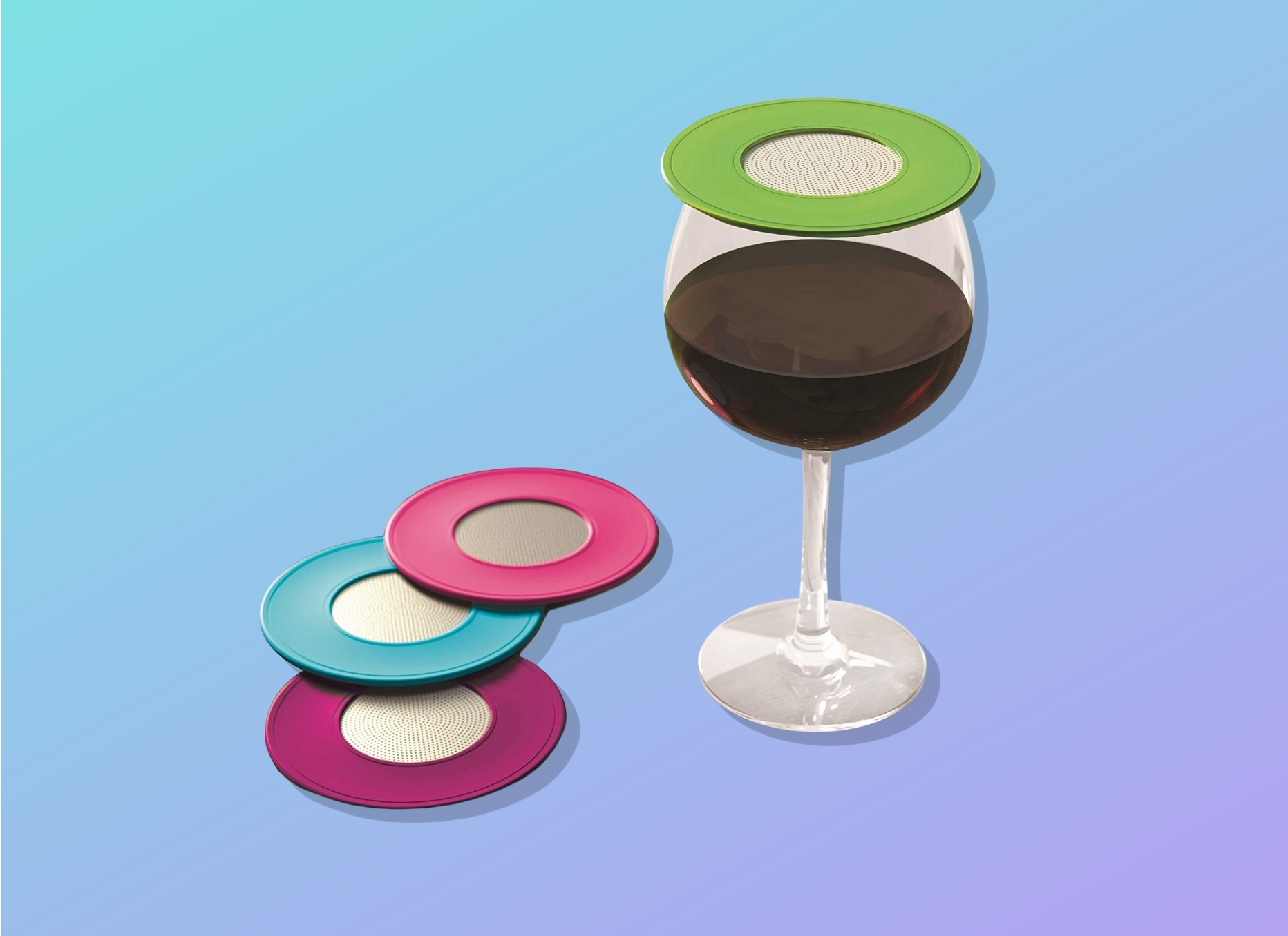 Coverware Wine Glass Toppers