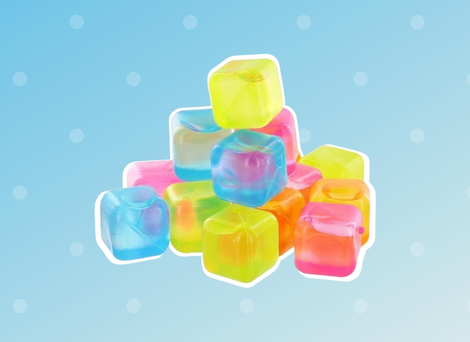 Plastic Ice Cubes BPA Free