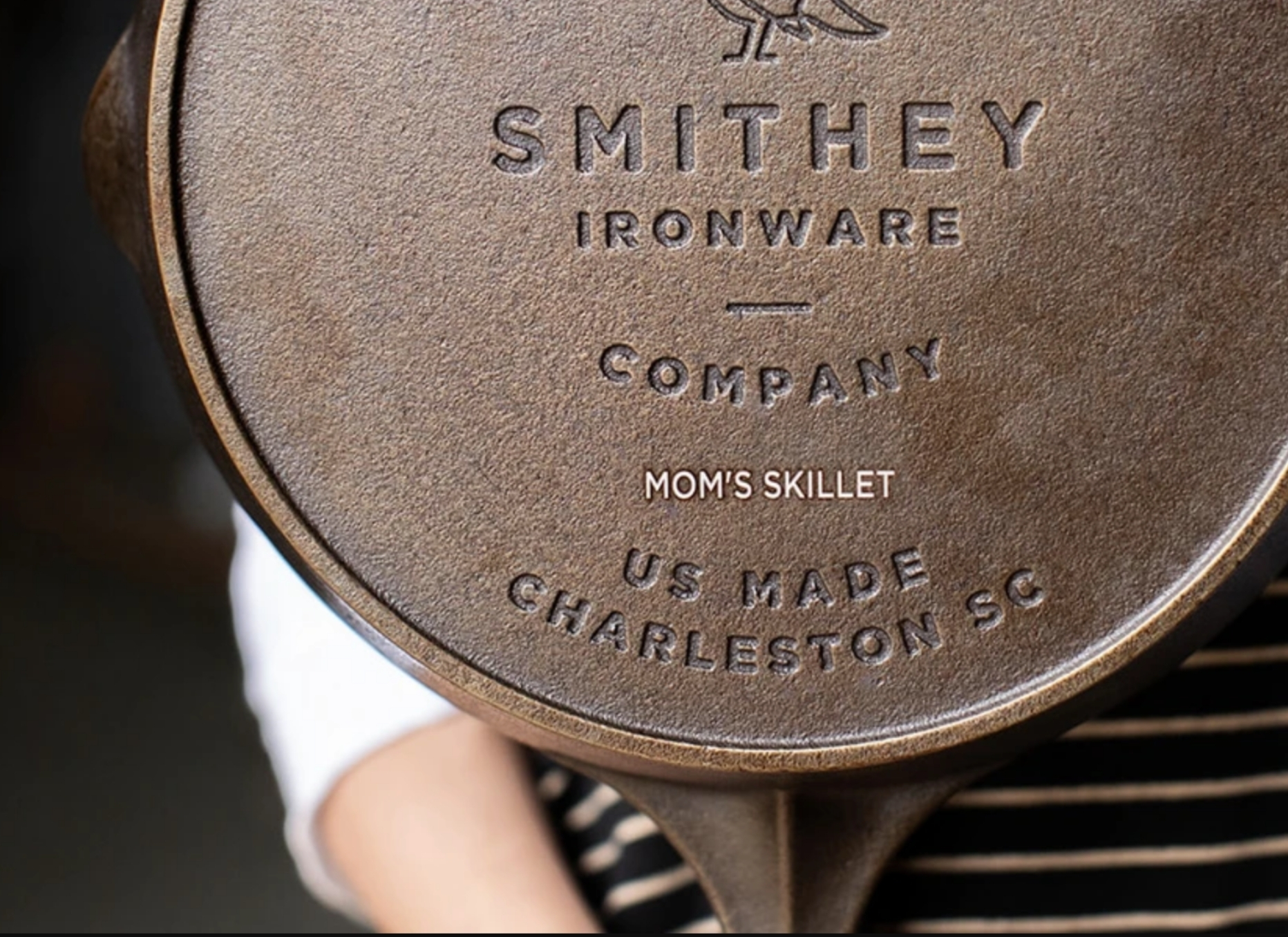 Smithey Ironware Customized Skillets