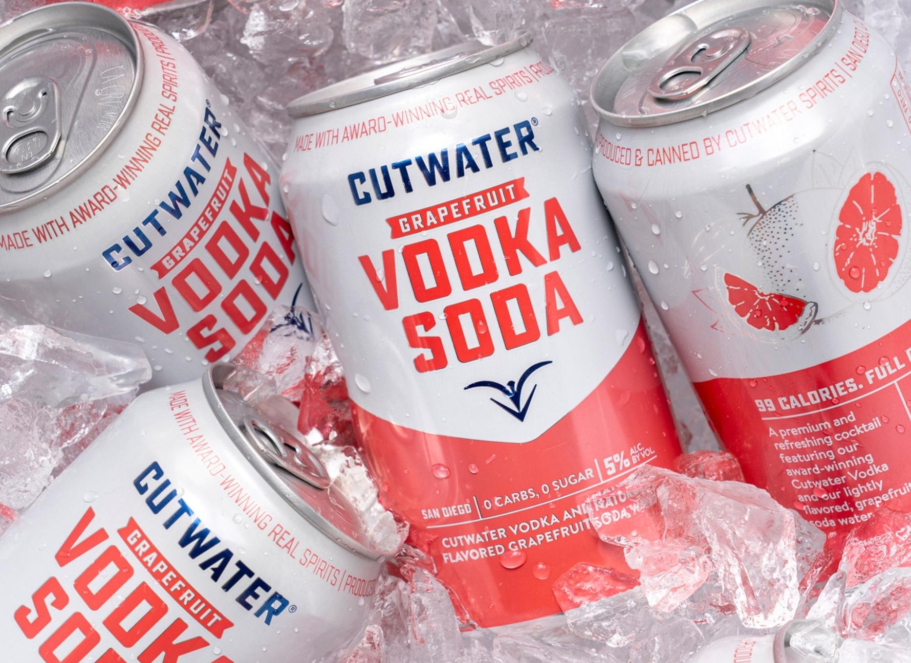 Cutwater Vodka Soda