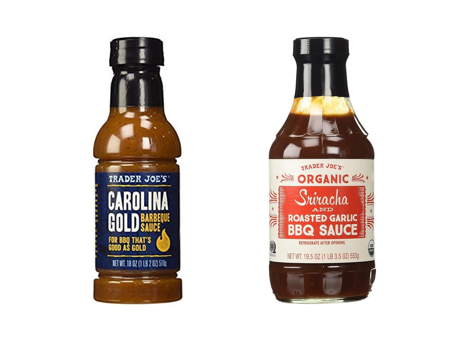 Sriracha and Carolina Gold Sauce