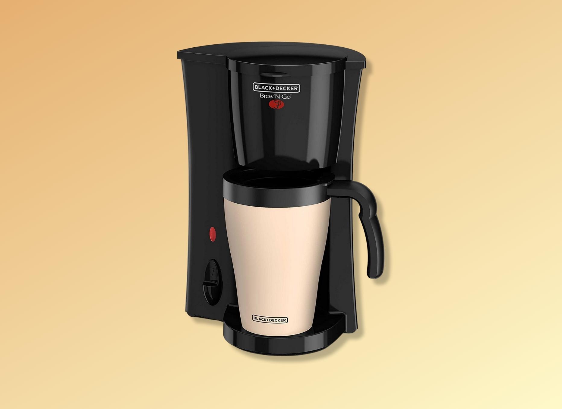 Black + Decker Single Cup Coffee Maker