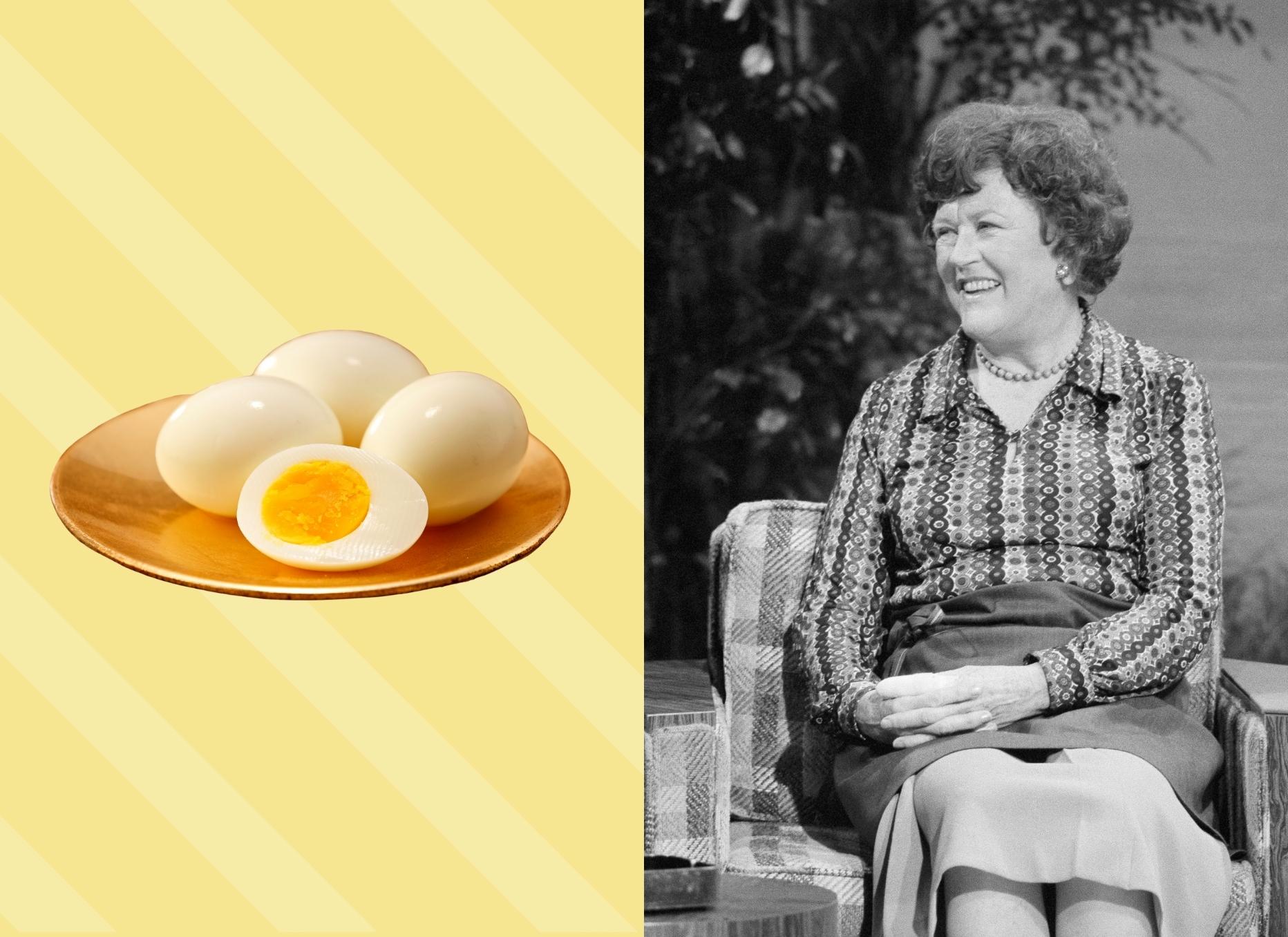 Julia Child Hard Cooked Eggs