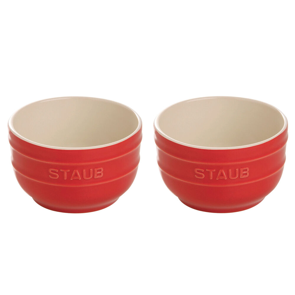 small red bowls