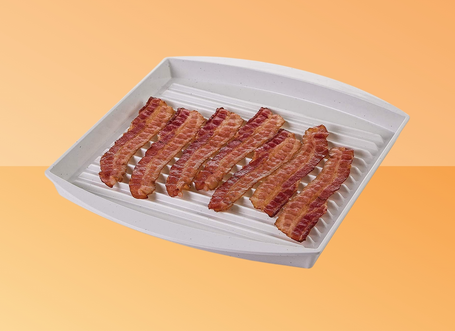 PrepSolutions Microwave Bacon Grill Plate