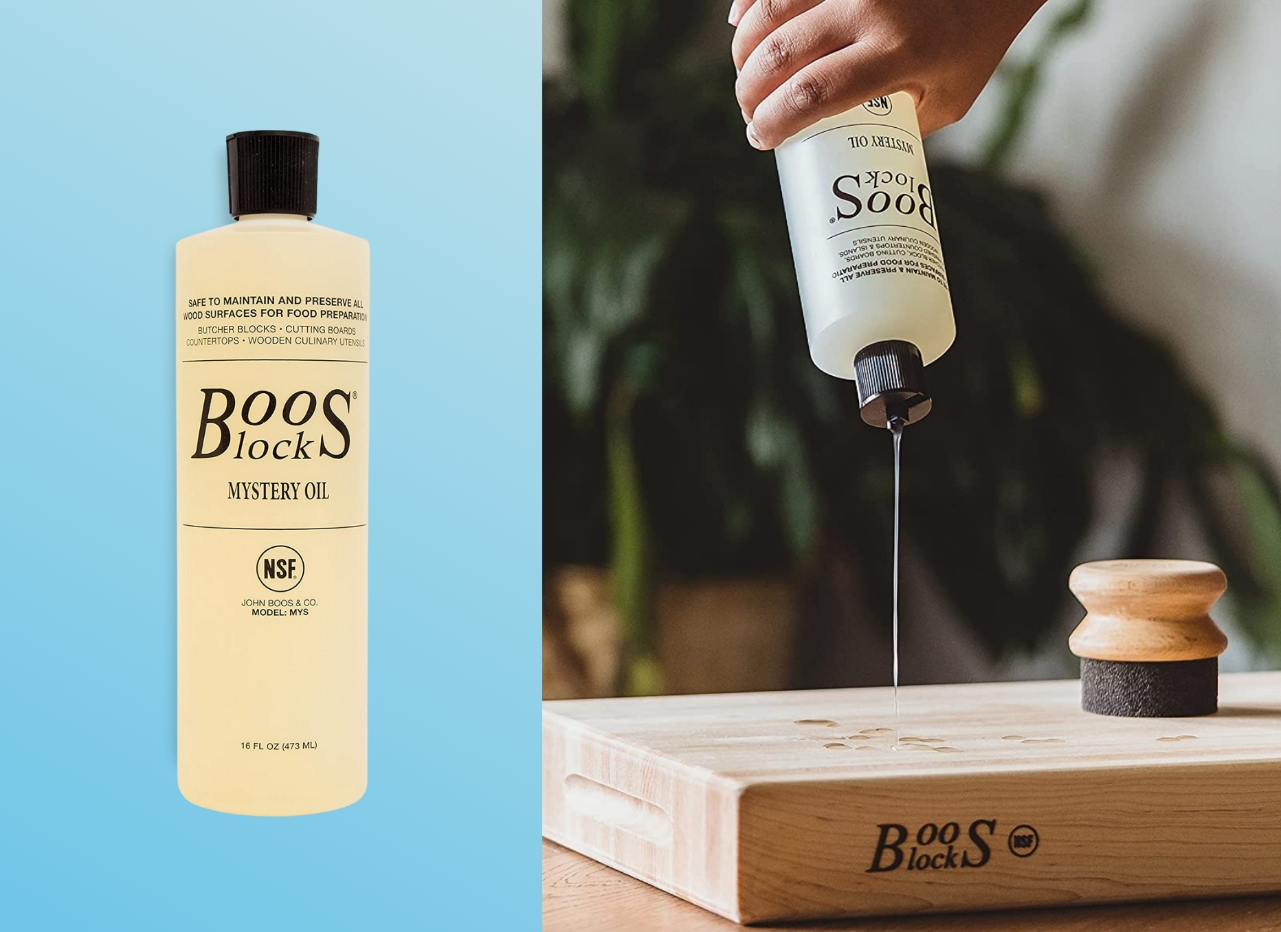 Boo's Block Mystery Oil