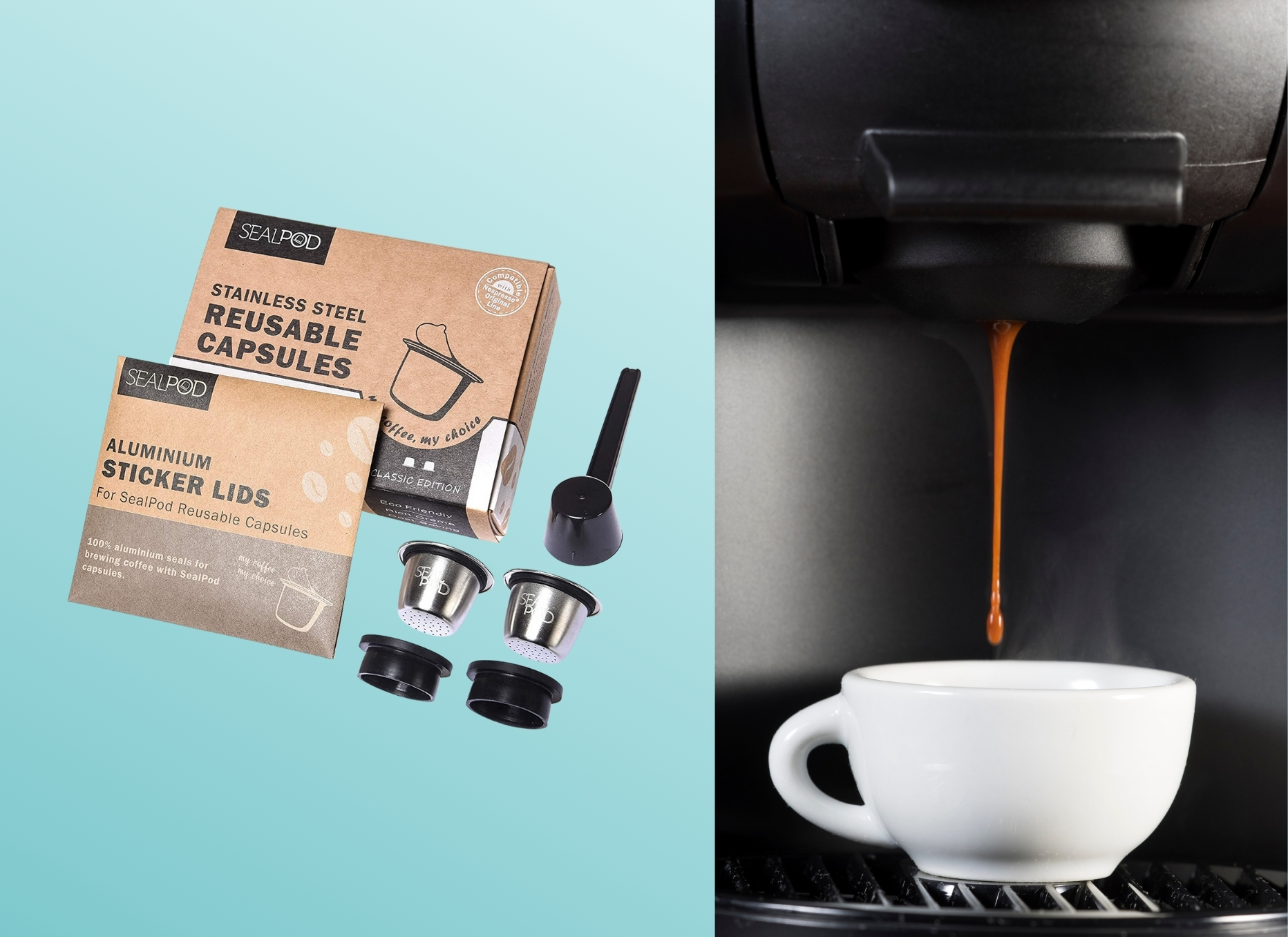 Nespresso Reusable Capsules