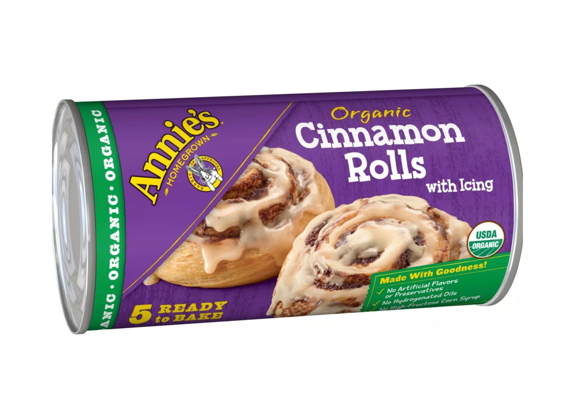 Annies Cinnamon Rolls