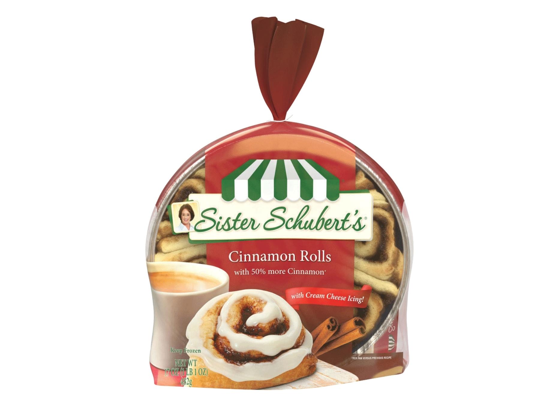 Sister Schubert's Cinnamon Rolls