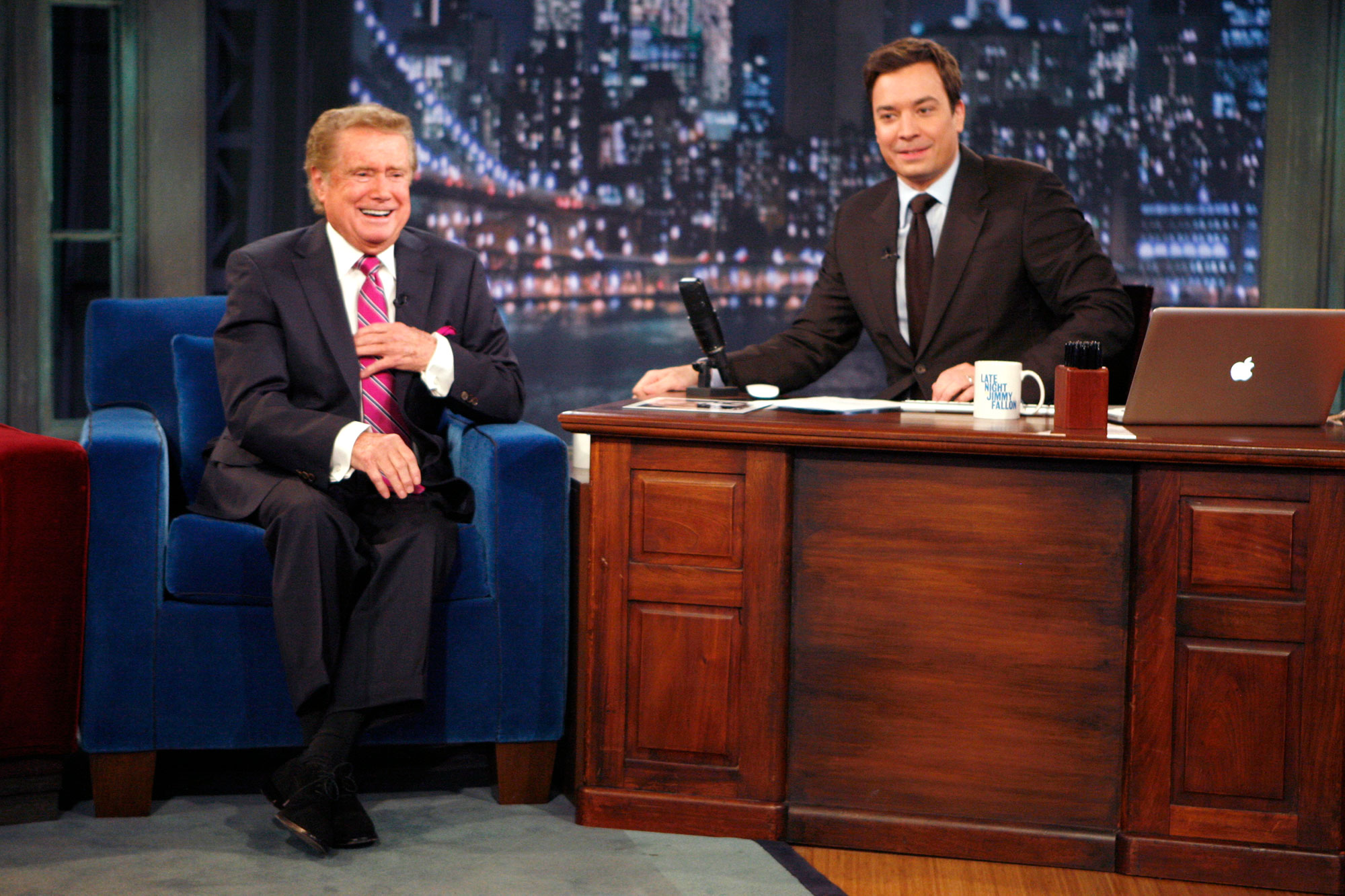 Late Night tributes to Regis Philbin