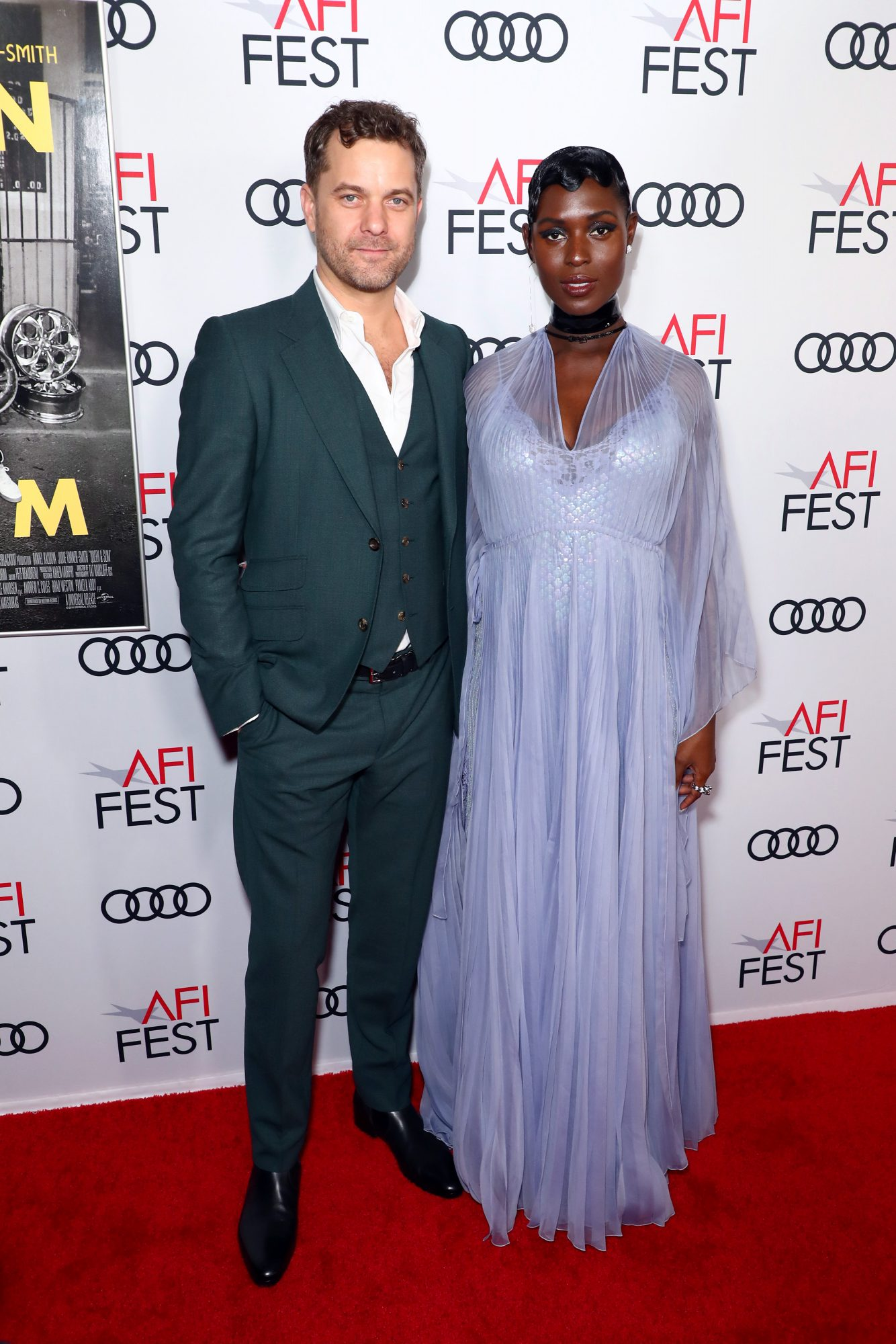 oshua Jackson and Jodie Turner-Smith