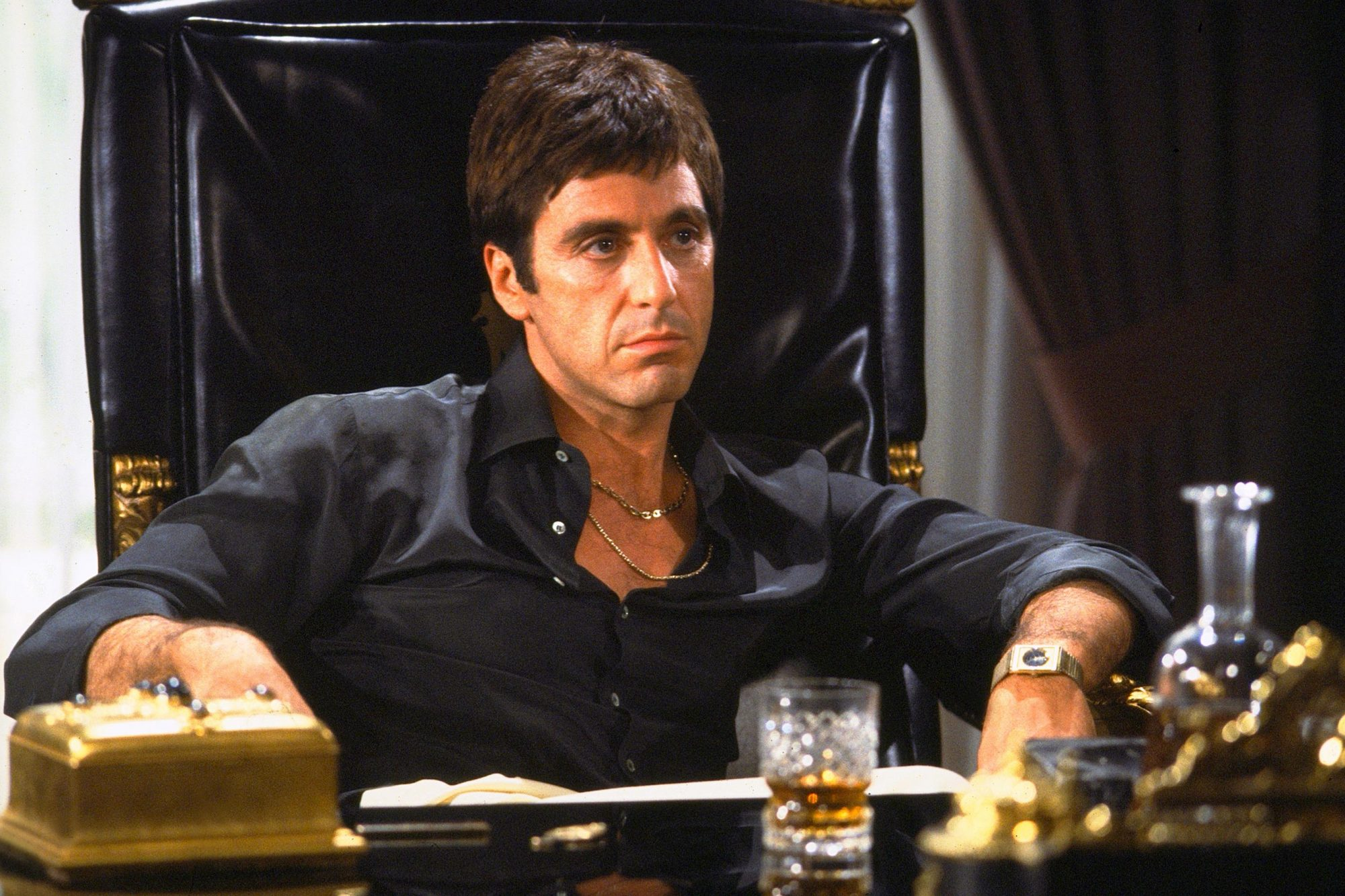 SCARFACE, Al Pacino, 1983, (c) Universal/courtesy Everett Collection