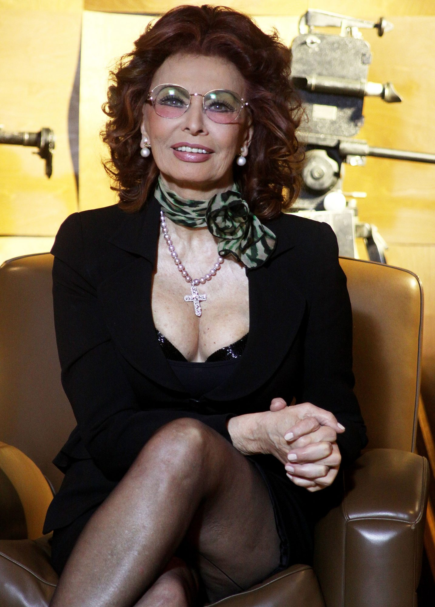 "ROME - MARCH 10: Italian actress Sophia Loren attends the ""La Casa Degli Specchi"" photocall at Sala Fellini Cinecitta on March 10, 2010 in Rome, Italy. (Photo by Ernesto Ruscio/Getty Images)"