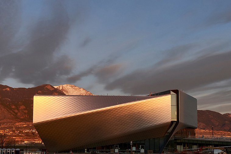 Exterior of US Olympic Museum