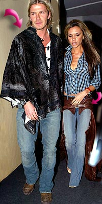 THE BECKHAMS'PONCHO AND CHAPS