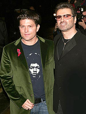George Michael and partner Kenny Goss attended special screening of a documentary based on his life - George Michael: A Different Story.
