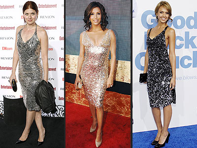SILVER SEQUINED DRESSES