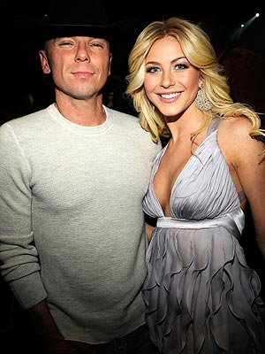 KENNY CHESNEY AND JULIANNE HOUGH