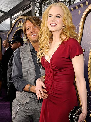 KEITH URBAN AND NICOLE KIDMAN