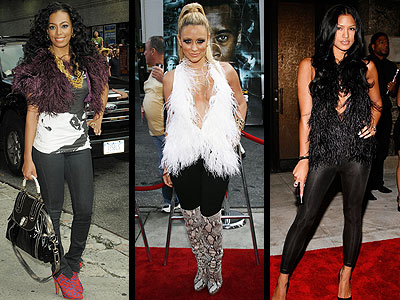 FEATHERED VESTS