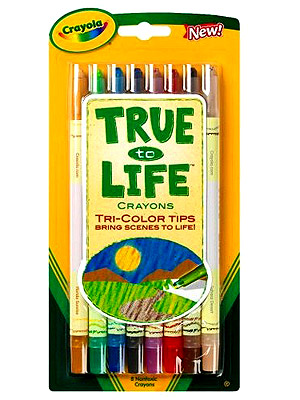 TRUE TO LIFE CRAYONS