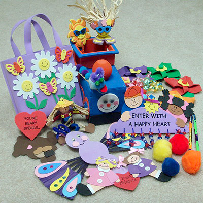 CRAFTS AND STICKERS
