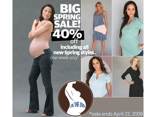 1 in the Oven 40% off sale