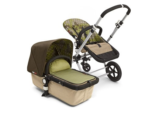 Bugaboo Cameleon Stroller with Paul Frank Tailored Fabrics in Skurvy