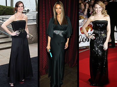 JEWELED BLACK GOWNS