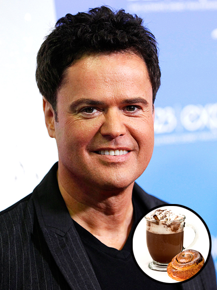 DONNY OSMOND'S MUST: HOT COCOA & CINNAMON ROLLS