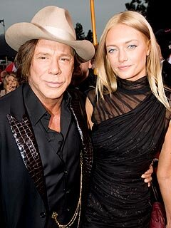 Mickey Rourke Calls His Girlfriend A Gift From Heaven People Com Since 2009, he has been in a relationship with anastassija makarenko, a russian model. mickey rourke calls his girlfriend a
