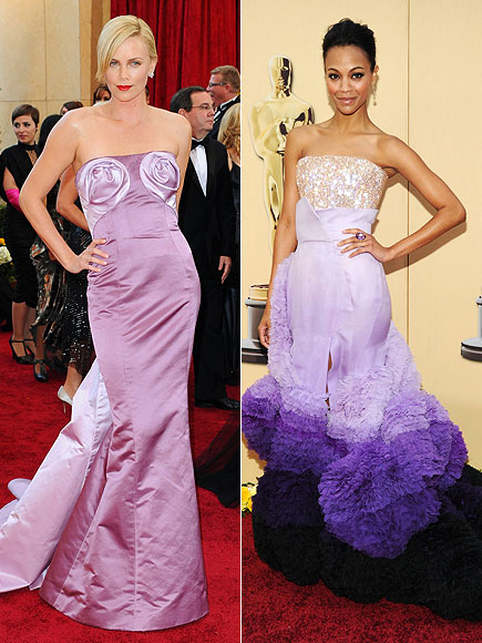 CRAZIEST-LOOKING DRESS: CHARLIZE THERON