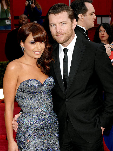 SAM WORTHINGTON & NATALIE MARK
