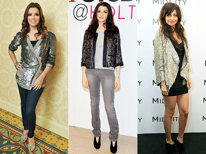 SILVER SEQUIN JACKETS