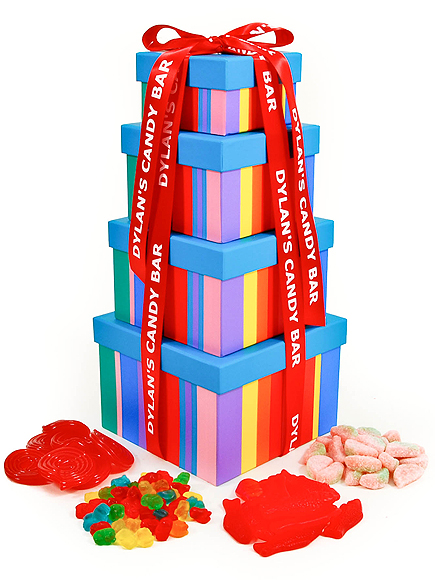 DYLAN'S CANDY BAR SWEET TREAT TOWER