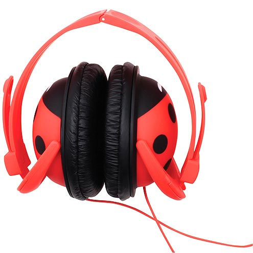 BEST FOR 6-YEAR-OLDS AND UP: LADYBUG HEADPHONES