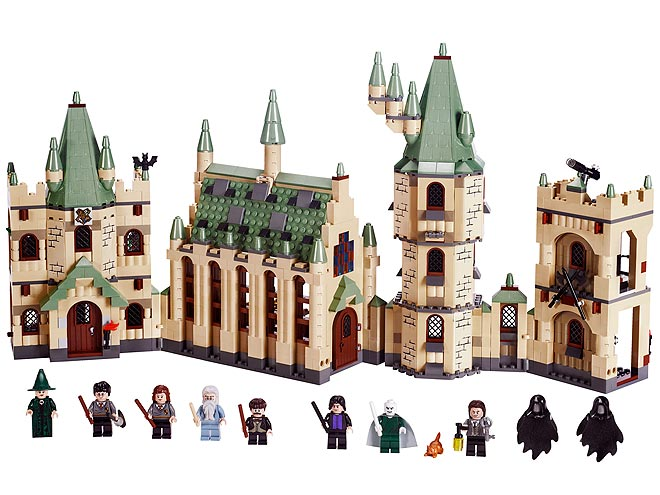 BEST FOR 6-YEAR-OLDS AND UP: HARRY POTTER LEGOS