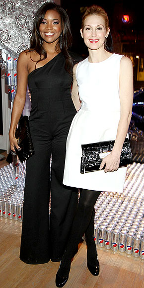 GABRIELLE UNION AND KELLY RUTHERFORD