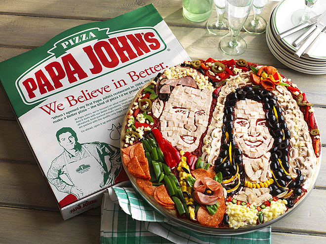 WILL & KATE PIZZA