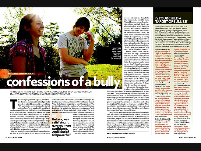 2010: A BULLY'S SIDE OF THE STORY