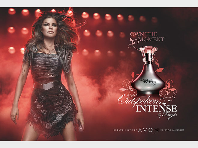FERGIE: OUTSPOKEN INTENSE