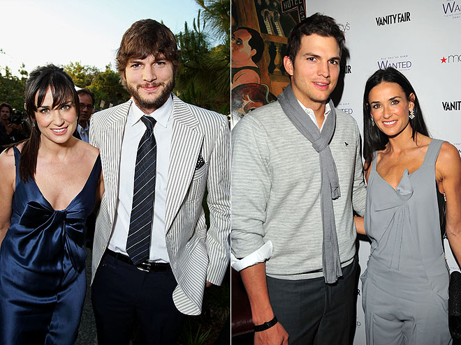 demi moore ashton kutcher wedding